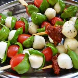 Tomaten Mozzarella Sticks